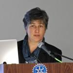 Anne-Marie Lambert, a recipient of a Belmont Historical Preservation Award in 2014