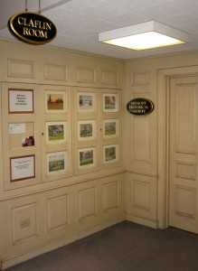 Entrance to the Claflin Room