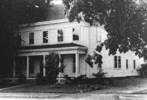 Albert Frost grew up in this house at 307 Pleasant Street in Belmont. The house has been beautifully preserved and restored .