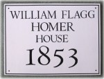 Sample of a Belmont Historic Plaque which can now be obtained for any qualifying house in Belmont.