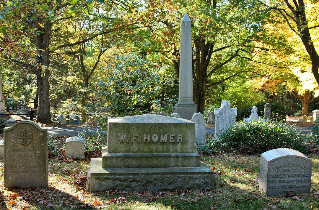William Flagg Homer's Tomb