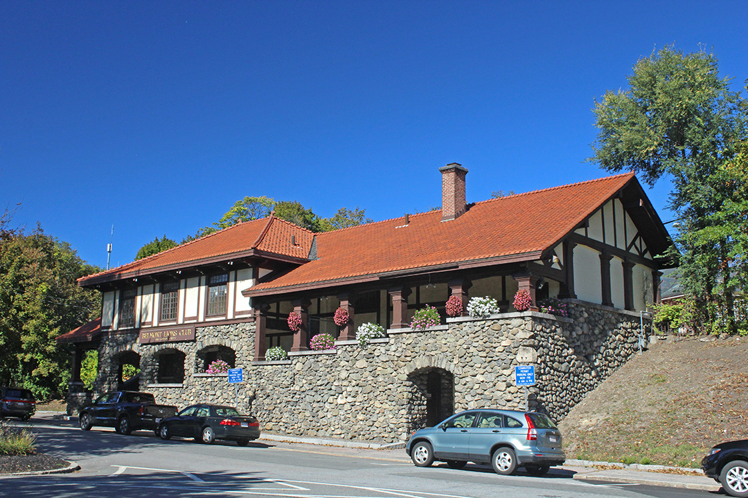 The 19th Century Railroad Station, Home Of The Belmont Lions Club