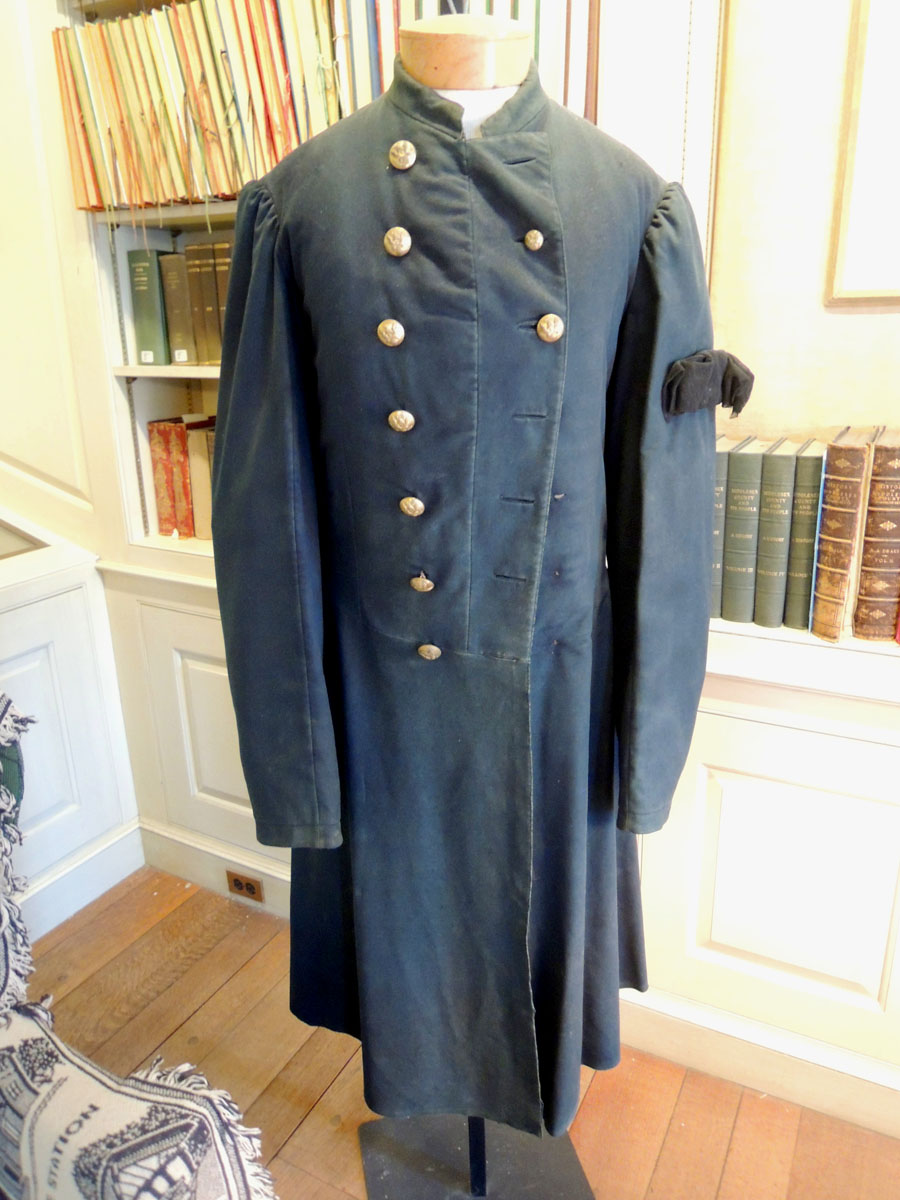 The Civil War uniform coat worn by James Richardson from Belmont