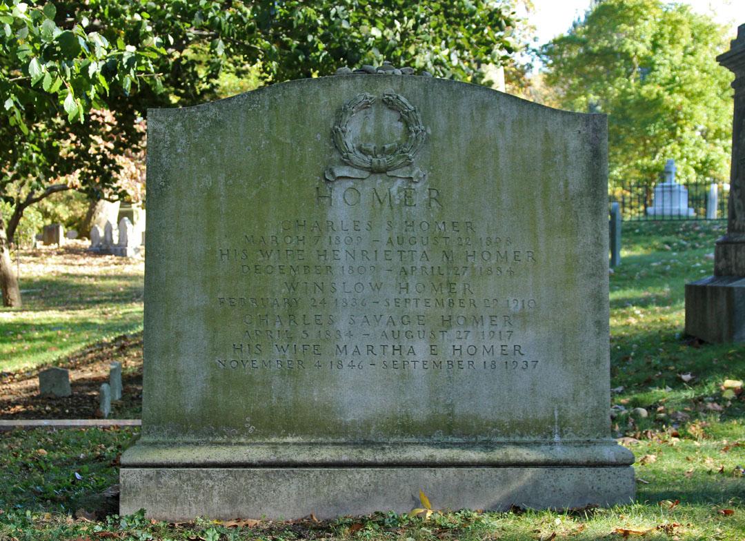 Winslow Homer's Tomb