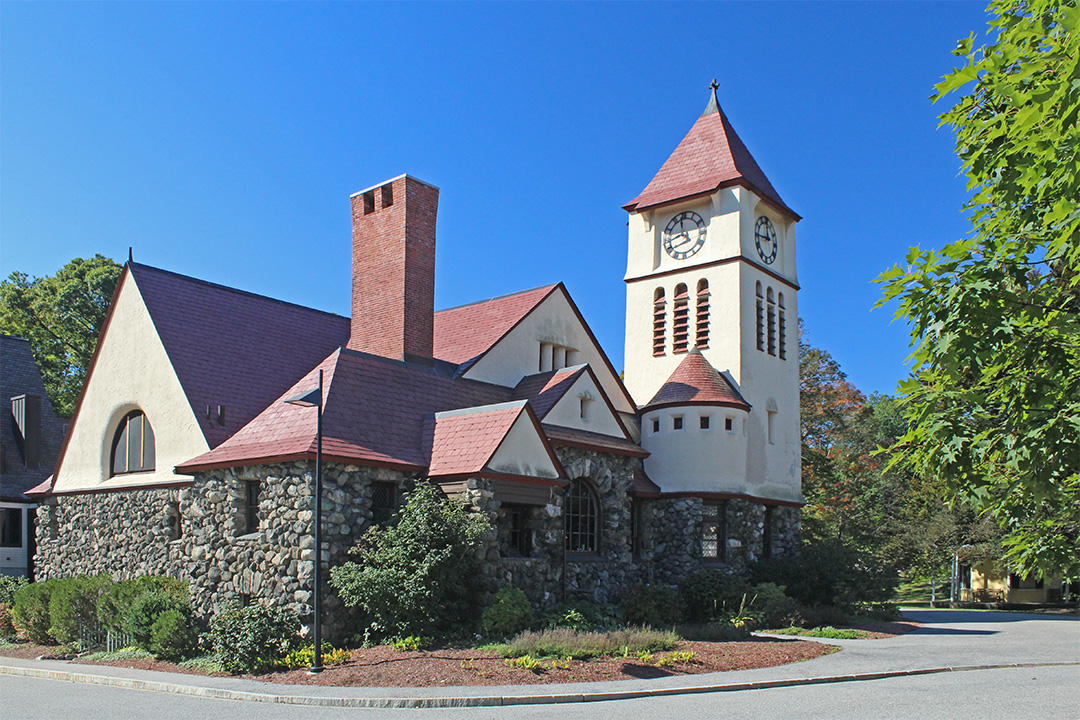 The Unitarian Universalist Church Built In 1857