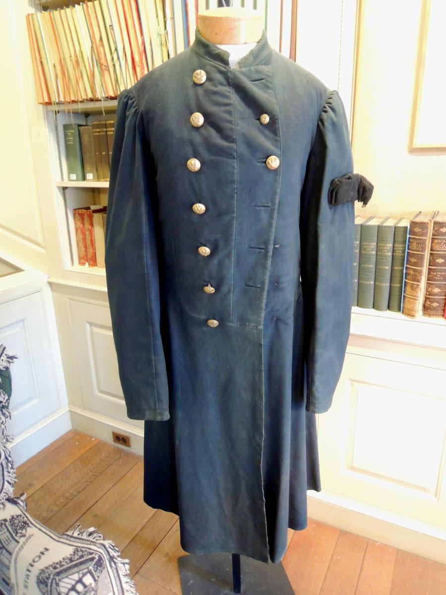The Civil War uniform coat worn by James Richardson from Belmont